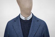 S.E.H Kelly Herringbone Twill Indigo Cotton SB1 Jacket • Selectism