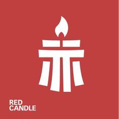 logo Red Candles, Game Logo, Atari Logo, Drawing Reference, Logo Design, Studio, Games, Drawings, Art