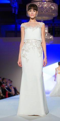 "Unaltered Brand new ""Harlem"" wedding dress from Blue by Enzoani, UK6, Ivory | United Kingdom | Gumtree"