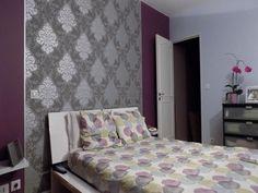 1000 id es sur le th me chambre violet gris sur pinterest - Chambre adulte violet ...