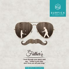 "Happy Father's Day I look through your specs and say, ""Today is your day, and i love you all year long."" #Happy #Father's #Day #SurficaLam #TheLaminateExpert #Wall #Floor #Furniture"