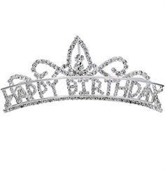 Birthday princess tiara for a sweet 16 party