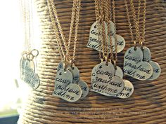i carry your heart with me - Inspired by the beautiful poem by E E Cummings-Hand Stamped By Simag.via Etsy.