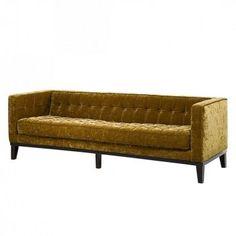 Sofa Canapee 2 Sitzer Vintage Eco Microfaser Braun Wohnen
