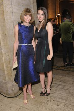 Anna Wintour with Bee Shaffer at the Michael Kors- Golden Heart Gala in New York City.
