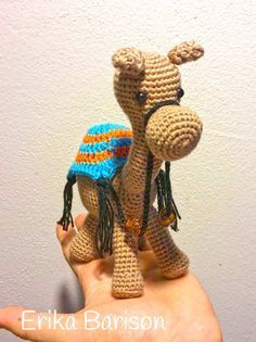 chameau (dromadaire ) amigurumi patron gratuit (french free crochet pattern camel )