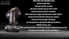 Futurelight DMH-100 High performance 100 Watt COB Moving Head with quadcolor LED and unique color effect prism