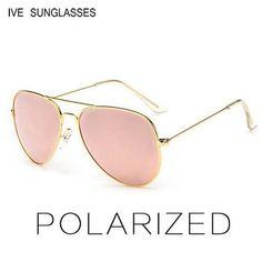6addf23d47 Classic Sunglasses Women   Men Driving Mirror Pilot Sun Glasses