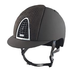 KEP Cromo Python Helmet Dark Brown