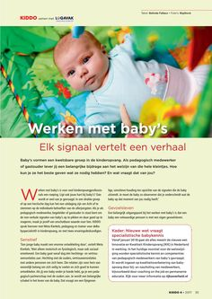 Kiddo, het vakblad voor kinderopvang schreef een artikell over de Babyspecialist (Bron: Kiddo 4 2017)