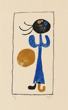 Joan Miró, A toute épreuve (Paul Éluard), 1958, Auction 1070 Modern Art, Lot