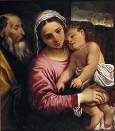 'Annibale Carracci's Holy Family at the National Gallery of Victoria'