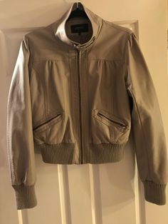 34395d1796 Papaya Faux Leather Biker Jacket in good condition UK 14 #fashion #clothing  #shoes