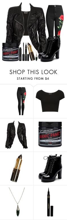"""Untitled #757"" by killjoy-sam ❤ liked on Polyvore featuring Topshop, Marc Jacobs, Evil Twin and Napoleon Perdis"