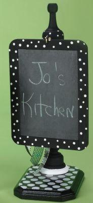 Chalkboard Kitchen Sign