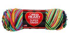 Blacklight Super Saver Economy Yarn   Red Heart