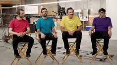 AJJ - Goodbye, Oh Goodbye. Quiseram ser tão ambiciosos como OK Go. Convenhamos, ficou até melhor. (They wanted to be as ambitious as Ok Go. Let's be honest, they really made it) (dir.: Joe Stakun) (01/07)