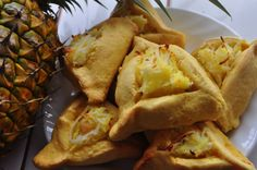 Pineapple Coconut Macadamia nut Hamantashen