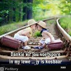 Dankie vir jou voetspore in my lewe . Love My Boyfriend, Afrikaanse Quotes, Goeie Nag, Positive Inspiration, Morning Greeting, Quotes About God, Embedded Image Permalink, Things To Think About, Qoutes