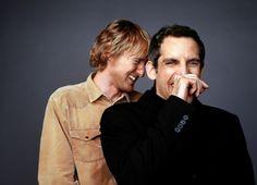 Owen Wilson and Ben Stiller