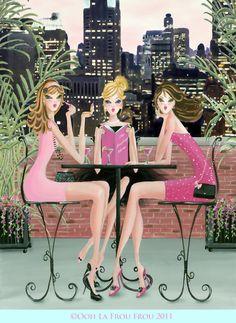 ooh la frou frou: Glamorous Review of Ooh La Frou Frou Girl Violet ... Close Up!