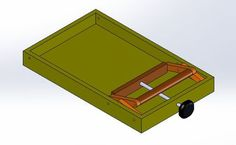 Thickness Drum Sander #3: Tables and Lifting Mechanism