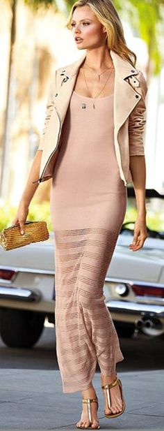 Maxi sheer stripes