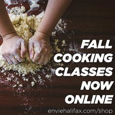 From @enviehalifax  Our schedule of cooking classes for October through December are now posted and open for registration! Get ready for the holiday season with classes on Thanksgiving vegan proteins dairy substitutions holiday baking and our annual holiday feast class! Register online at http://ift.tt/2blfI6i #halifax #hfx #novascotia #eatwell #plantbased