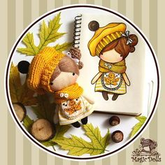 Ma Petite Poupee - Maple Leaf #magic__dolls #doll #dolls #art #design #sew #crochet #knitting #draw #sketch #miniature #decor #handmade #handcraft #кукла #миниатюра #творчество #зарисовка #эскиз #ручнаяработа #кукларучнойработы #рисую #вязание #текстильнаякукла #тряпичнаякукла #тканеваякукла #декор #клён #maple #leaf
