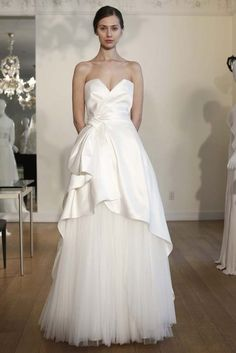 Alberta Ferretti Bridal Spring 2015 An MK Design piece of jewelry would be killer with this dress!