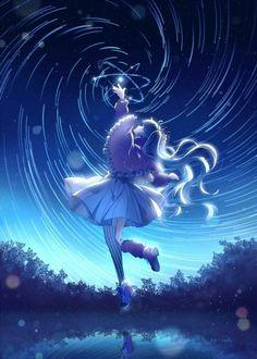 Pronto, agora até a hatsune miku ta tentando fazer um rasengan Anime Girl Cute, Kawaii Anime Girl, Anime Art Girl, Manga Girl, Anime Girls, Anime Angel, Anime Neko, Vocaloid, Fantasy Anime