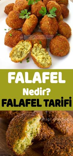 Organik Günler: Falafel Nedir – Falafel Tarifi Vejeteryan yemek tarifleri – The Most Practical and Easy Recipes Healthy Chicken Recipes, Pizza Recipes, Veggie Recipes, What Is Falafel, Drink Recipe Book, Healthy Eating Tips, Good Food, Food And Drink, Easy Meals