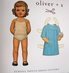 Oliver +S Patterns: School Photo Dress Pattern