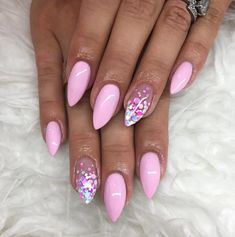 This series deals with many common and very painful conditions, which can spoil the appearance of your nails. SPLIT NAILS What is it about ? Nails are composed of several… Continue Reading → Dream Nails, Love Nails, Pink Nails, Glitter Nails, My Nails, Pink Summer Nails, Fabulous Nails, Gorgeous Nails, Confetti Nails