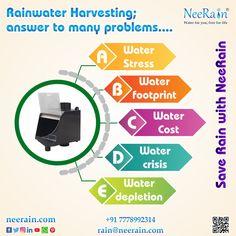 Rainwater Harvesting, Footprint, Rooftop, Filter, Stress, Life, Rooftops, Psychological Stress, Philtrum