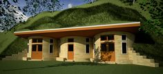 Earth homes on pinterest underground homes earth and hobbit houses