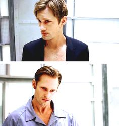 True Blood - season 6 episode 5 - Eric Northman always finds time to fix his hair