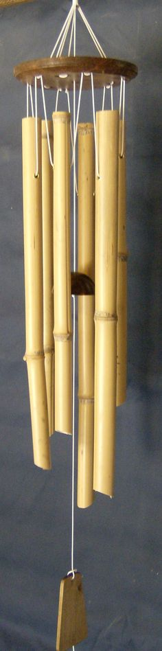 Bamboo Wind Chimes   Long Lasting. The bamboo we use in grown and harvested right here in ...