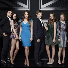 Oh no they DI'INT  The Royals...are...coming. @elizabethhurley1  @alexandrapark1  @goodproblemstohave  @merritt_pattrsn  @sophiecocoon  @eonline #TheRoyals #Bringit