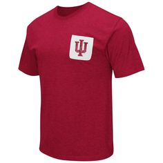 Indiana University Hoosiers Men's T-Shirt with Pocket
