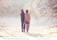 Couple shoot in the snow | Photography: Capture Love