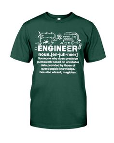 Engineer Definition Engineer Shirt, Definitions, The Magicians, Classic T Shirts, Engineering, Posters, Mens Tops, Poster, Technology