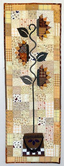 Needles 'n' Knowledge: Tall Sunflowers Quilt