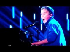 Edon sings What Makes You Beautiful by One Direction on America's Got Talent. He got voted off tonight but I think he did a great cover!