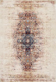 We have major heart eyes over this Rugs USA Secrets LF01 Faded Gothic Cross Medallion Rug!