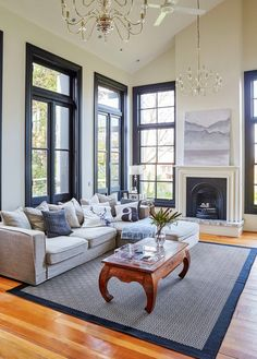 Let these gorgeous rooms inspire you to enter our Beautiful Rooms competition Industrial Chic Kitchen, Katie Homes, Melbourne Cafe, Seaside Style, Living Spaces, Living Room, Victorian Architecture, Beautiful Bedrooms, Home Look