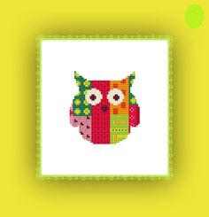 Hey, I found this really awesome Etsy listing at https://www.etsy.com/listing/183812613/cross-stitch-embroidery-pattern-owl