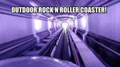 Outdoor Rock N Roller Coaster POV - Express at Walibi Holland
