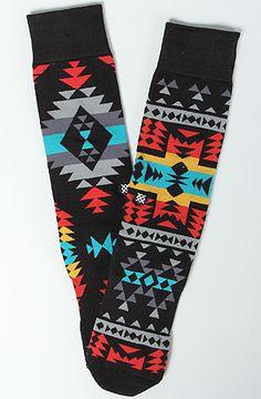 Stance Socks The Reservation Mix Match Socks in Black