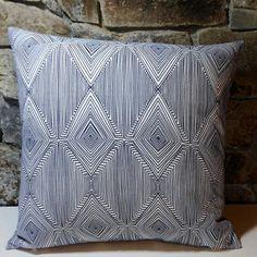 Nate Berkus Indigo Linea Pillow Cover//20 by PrestonStreetPillows